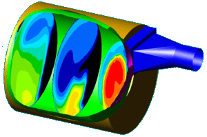 CFD of Roaster